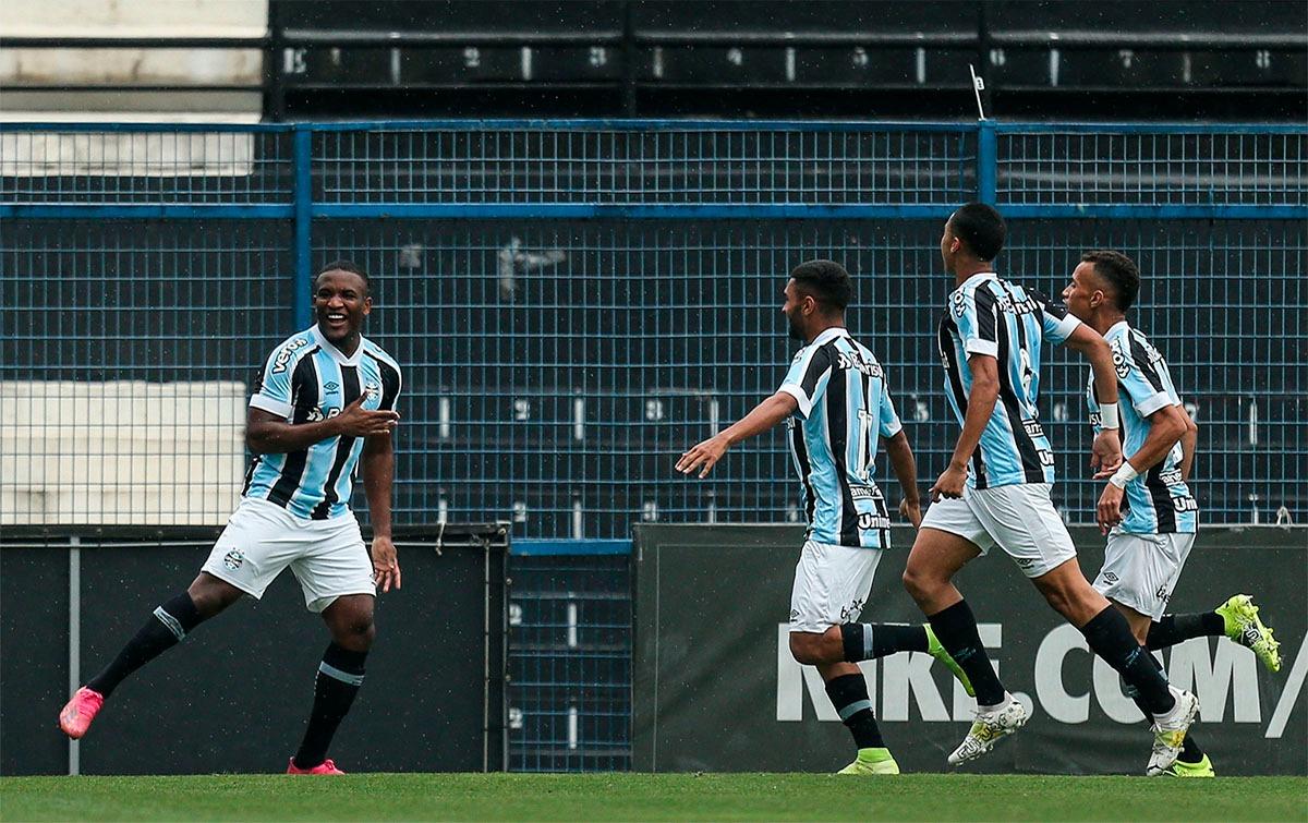 Grêmio empata com o Corinthians pelo Brasileiro de Aspirantes